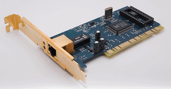 Ethernet Kartı Driver yükleme