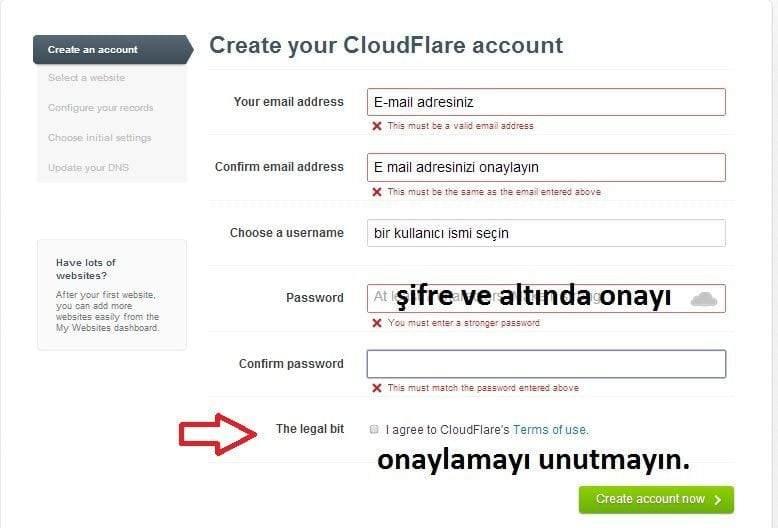 Cloudflare Kurulumu