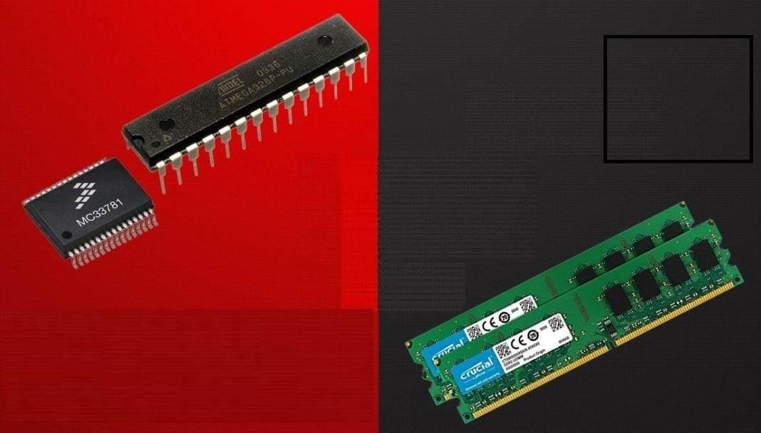 RAM ROM arasındaki farklar