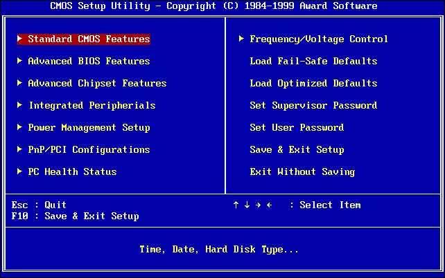 UEFI ve BIOS farkı