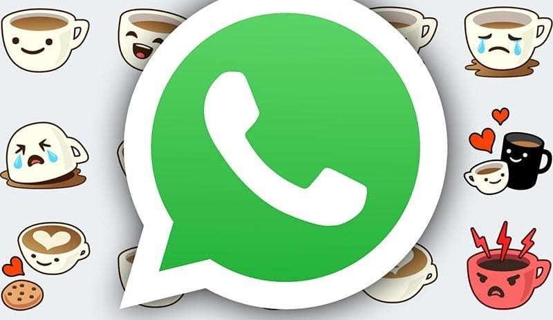 WhatsApp sticker gönderme