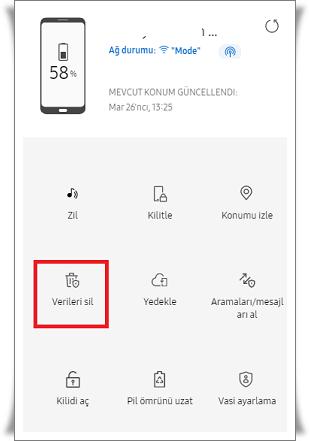 Ekranı Kırık yada Açılmayan Telefonu Sıfırlama Nasıl Yapılır?