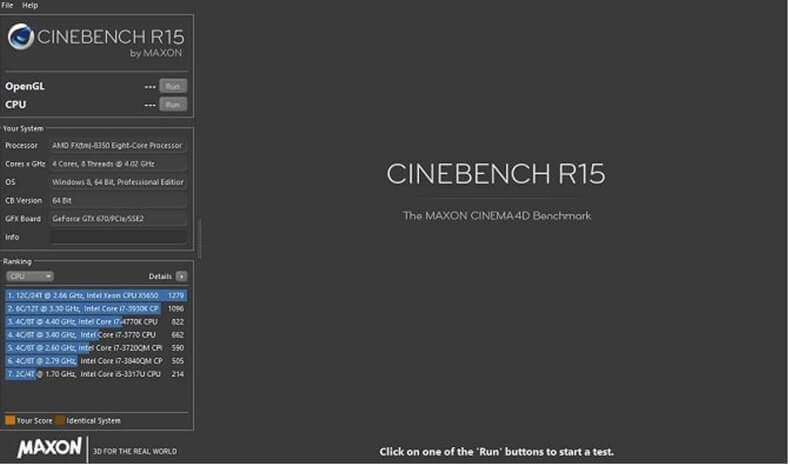 Benchmark Test Programı