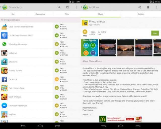 google play alternatif
