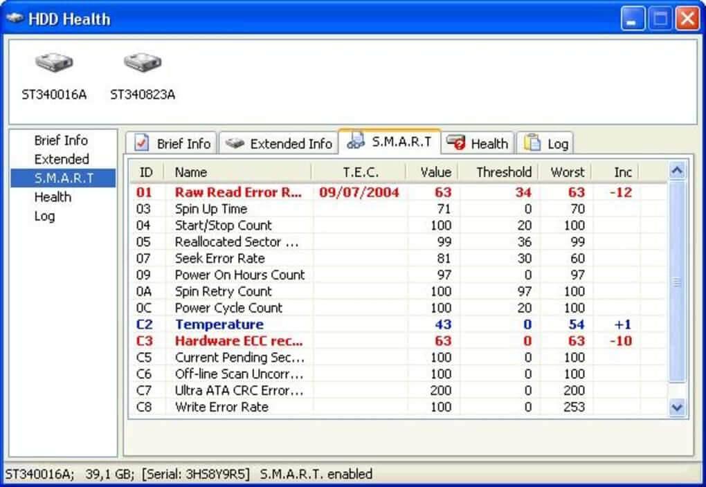 harddisk onarım programı