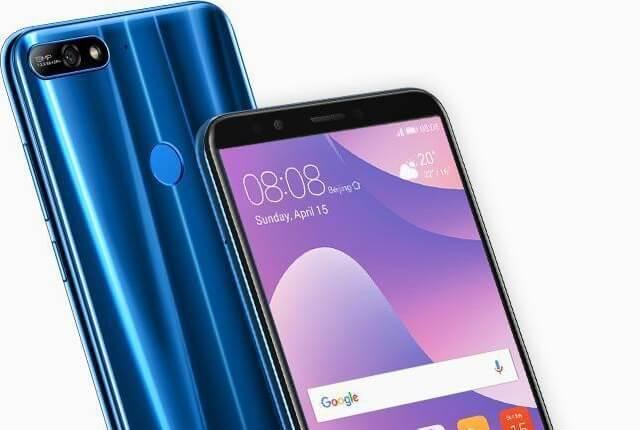 Huawei Y7 soft reset hard reset