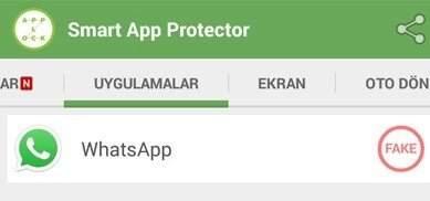 whatsapp şifre koyma programsız