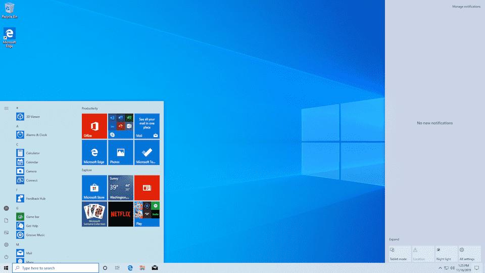 Windows 10 Sürücü Gizleme