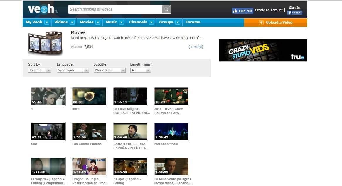 YouTube Benzeri Video Siteleri