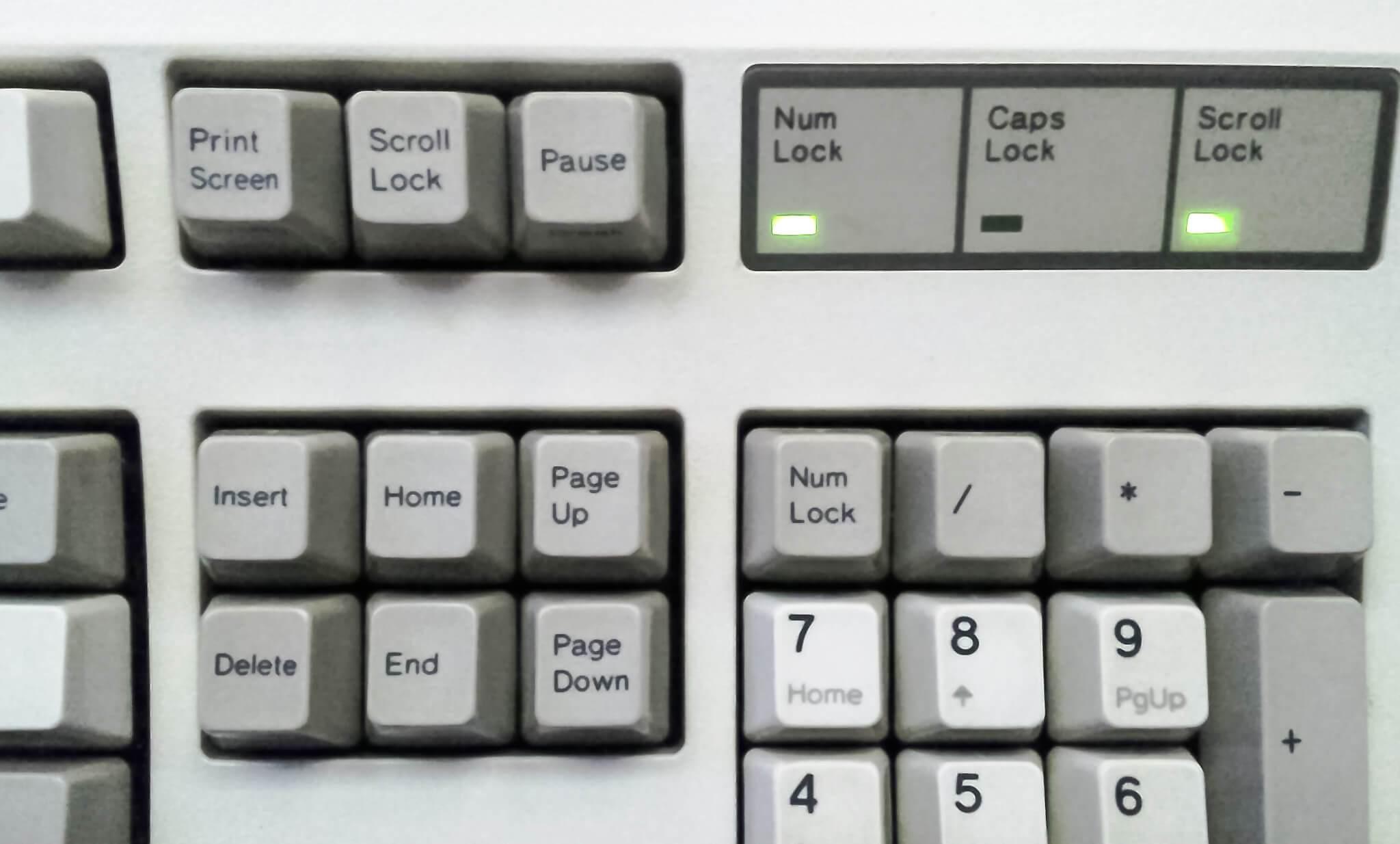 Ekranda Caps Lock Açık Kapalı uyarısı görmek için Program
