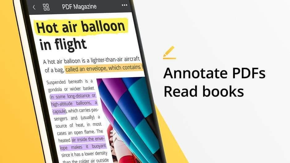 iPhone en iyi pdf okuyucu