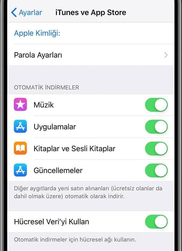iPhone otomatik güncelleme yapmıyor!