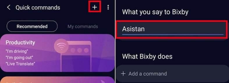 bixby tuşuna görev atama