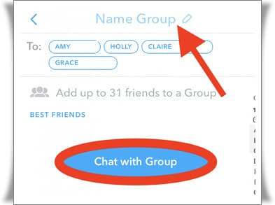 Snapchat'te grup nasıl kurulur?
