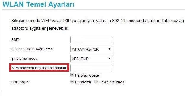 Turkcell Vınn WiFi Şifre Değiştirme