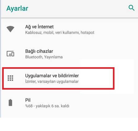 Android Uygulama Önbelleği Temizleme