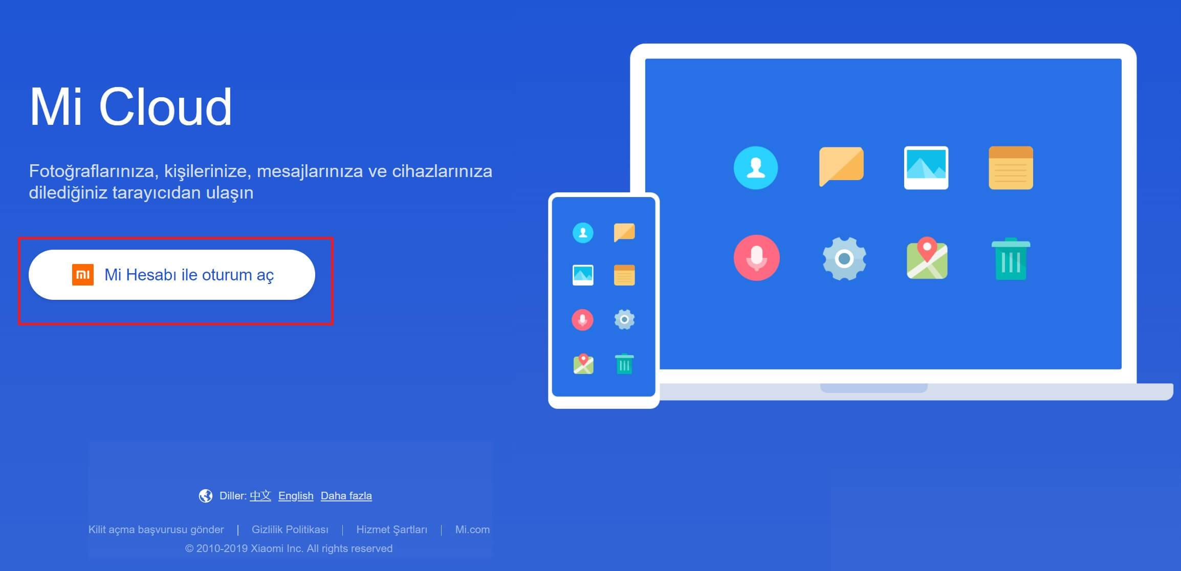 Xiaomi Mi Hesabı Nasıl Oluşturulur?