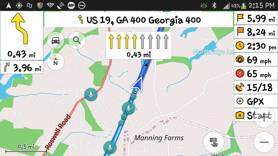 android internetsiz navigasyon tavsiye