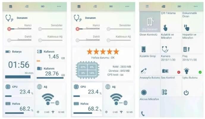 Android benchmark Uygulamaları