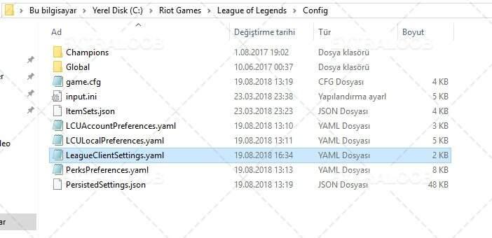 League of Legends dil değiştirmek