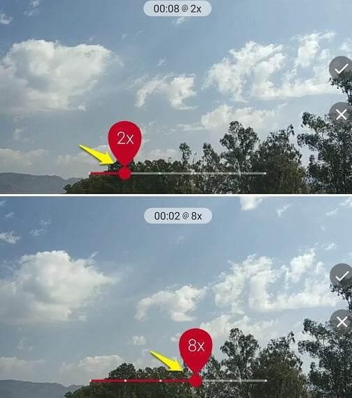 time lapse uygulaması