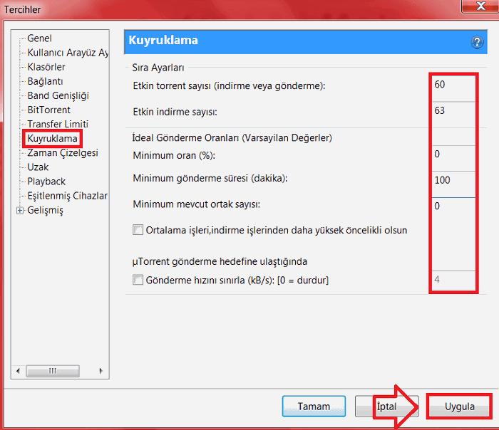 utorrent hızlandırma trackerleri