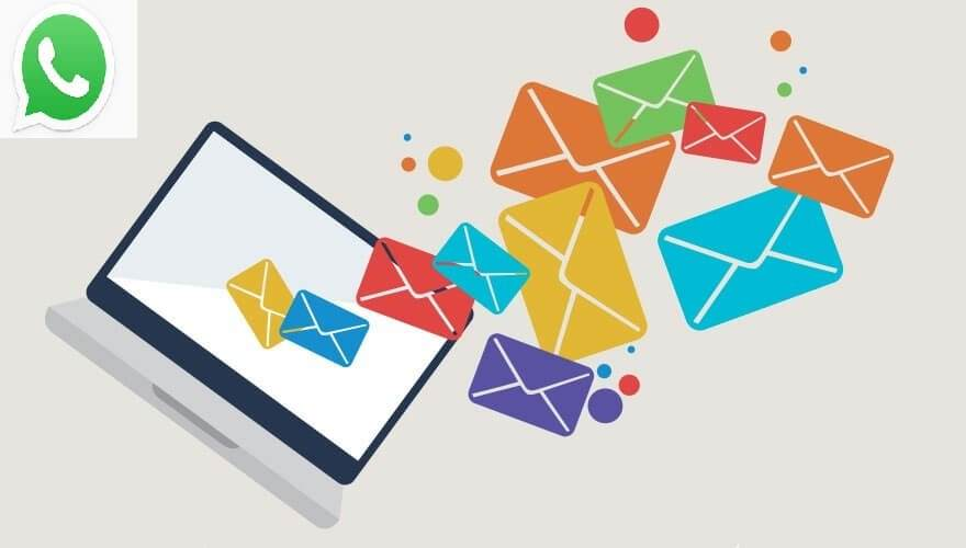 WhatsApp Konuşmalarını Email ile Gönderme