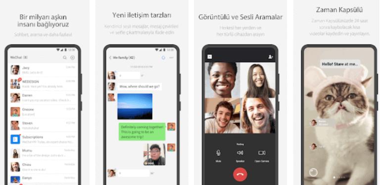 whatsapp benzeri uygulama
