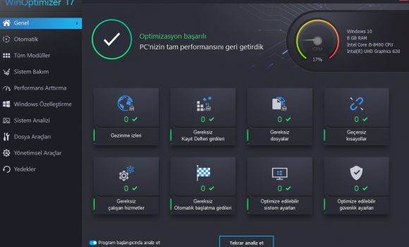 en iyi sistem bakım ve bilgisayar hızlandırma programları
