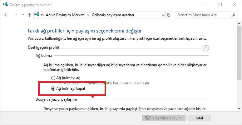 cpu 100 sorunu windows 10