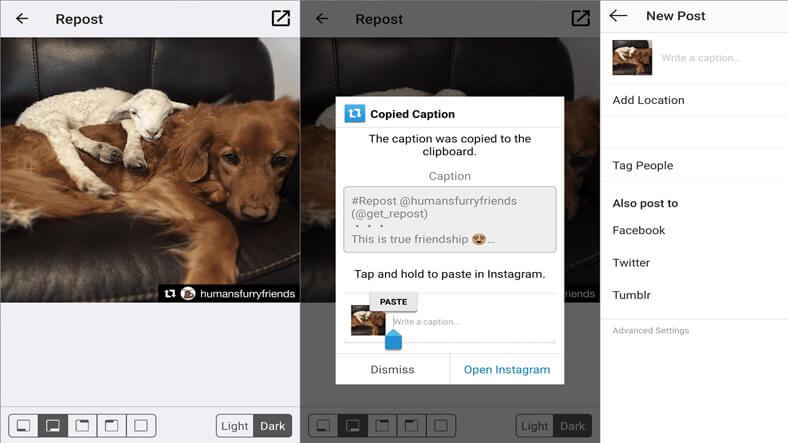 En iyi Instagram RePost uygulamaları