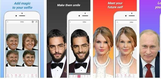FaceApp benzeri uygulama