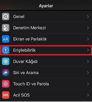 iPhone ekran siyah beyaz nasıl düzelir ?