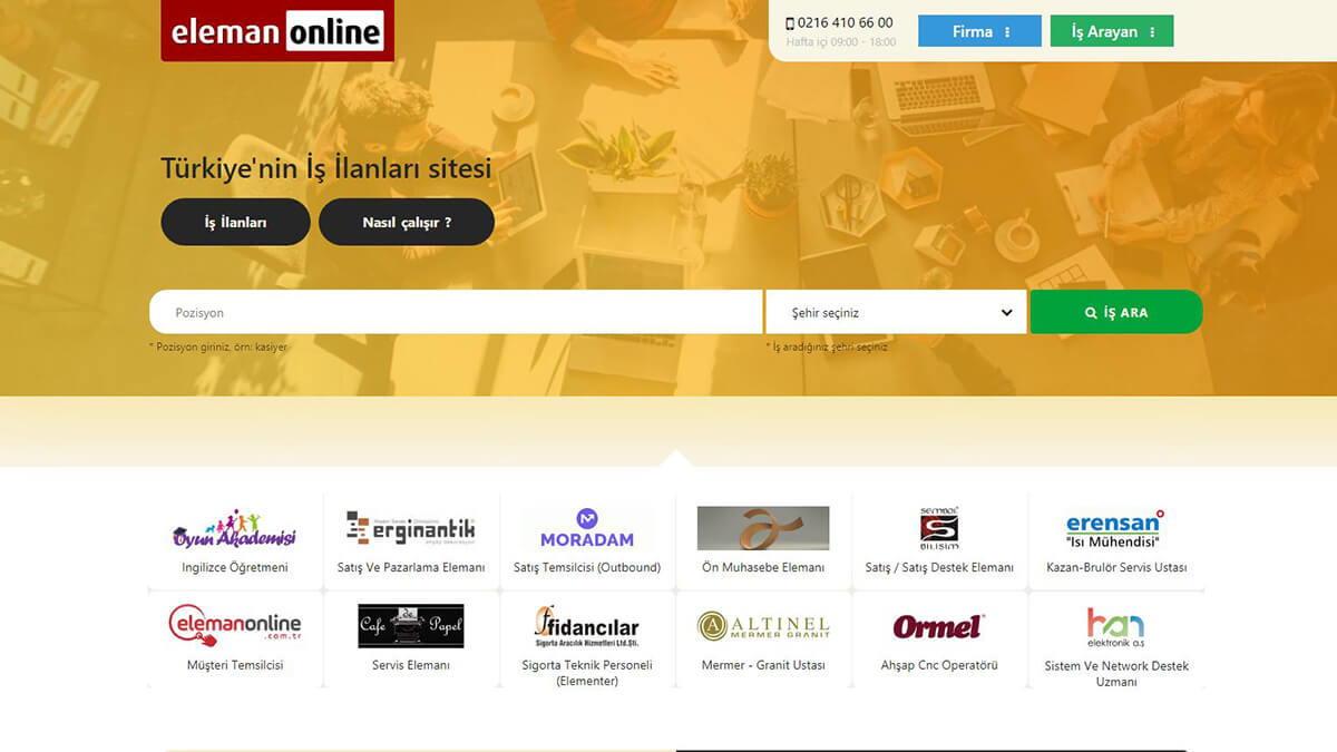 Kariyer.net benzeri iş bulma siteleri