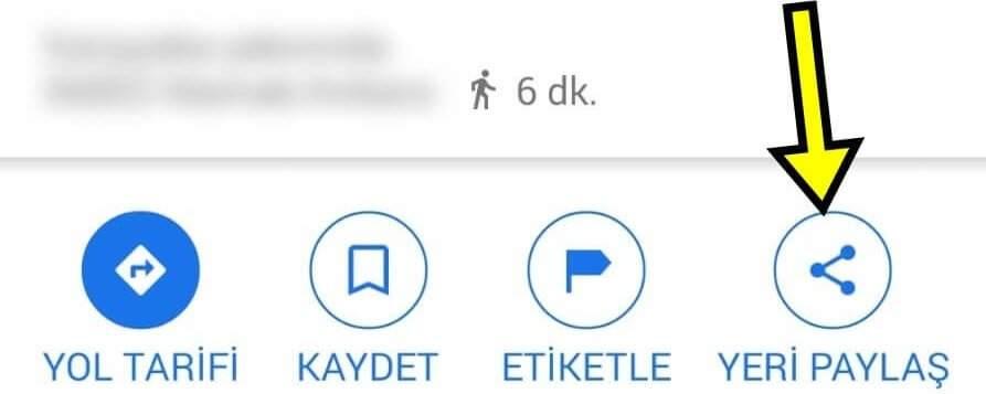 Google Konum Gönderme