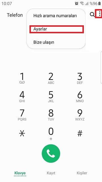 Telefonum biri aradığında meşgul çalmasın!