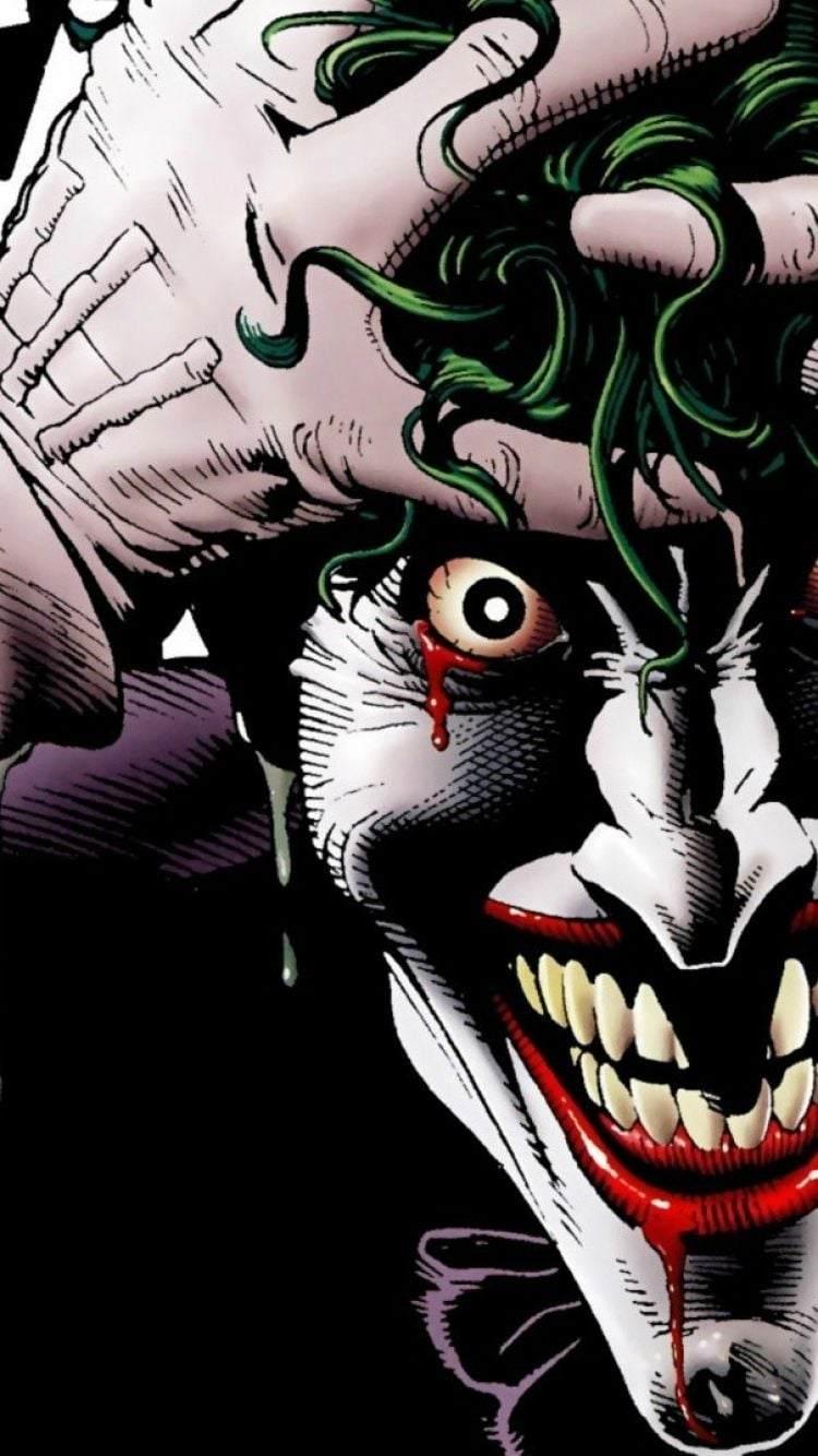 Telefonunuz için harika Joker duvar kağıtları!