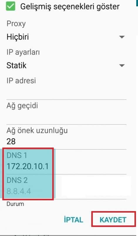 dns ayarları 2020, windows 10 dns değiştirme, android dns değiştirme, iPhone dns değiştirme, güncel dns adresleri 2020