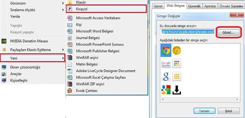 Windows 10'da Uygulamaları Masaüstüne Taşıma