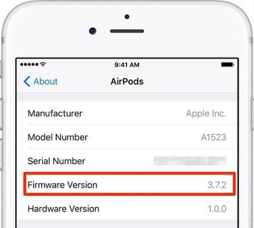 Airpods yazılım güncelleme, airpods son sürüm, airpods güncel sürüm yükleme