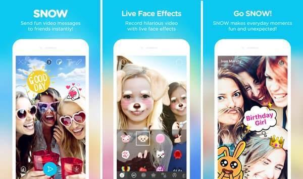Snapchat benzeri uygulamalar, yüz değiştirme uygulaması, Snapchat alternatif