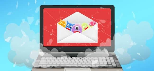 virüs eklenmiş mailler, E-posta yoluyla virüs nasıl bulaşır, Virüslü mail nasıl anlaşılır