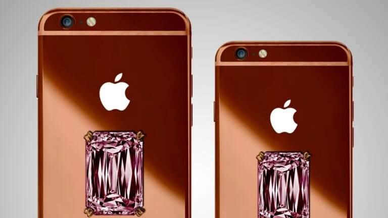 Dünyanın en pahalı 12 Telefonu, Dünyanın en pahalı telefonları, En pahalı telefon, Dünyanın en pahalı telefonu, Falcon SuperNova iPhone 6 Pink Diamond