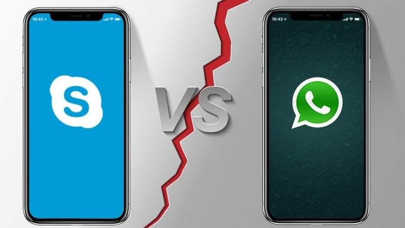 Skype ile WhatsApp arasındaki fark, Skype ve WhatsApp Karşılaştırması, Skype mı Whatsapp mı