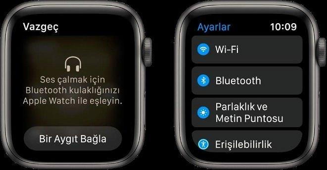 Apple Watch Bluetooth Kulaklık Eşleştirme,Apple Watch Bluetooth Kulaklık bağlama,Bluetooth bağlantı sorunları