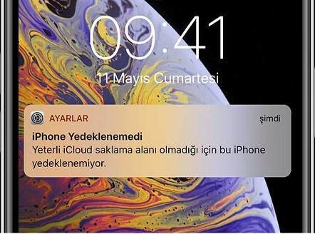 iCloud dolu uyarısını kapatma,Yeterli iCloud saklama alanı olmadığı için bu iPhone yedeklenmiyor,iCloud saklama alanı boşaltma,iCloud dolu uyarısı,iPhone yedeklenemedi
