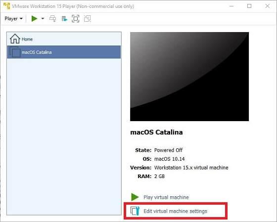 VMware macOS Catalina Kurulumu, macOS Catalina ISO, VMware Workstation Unlocker,VMware Tools