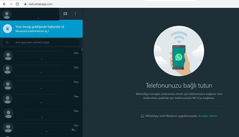 WhatsApp Web Karanlık Mod,Wp karanlık mod nasıl açılır,WhatsApp web dark mode