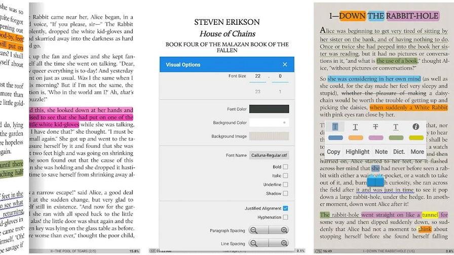 en iyi kitap okuma uygulamaları, Wattpad benzeri, e-kitap uygulamaları