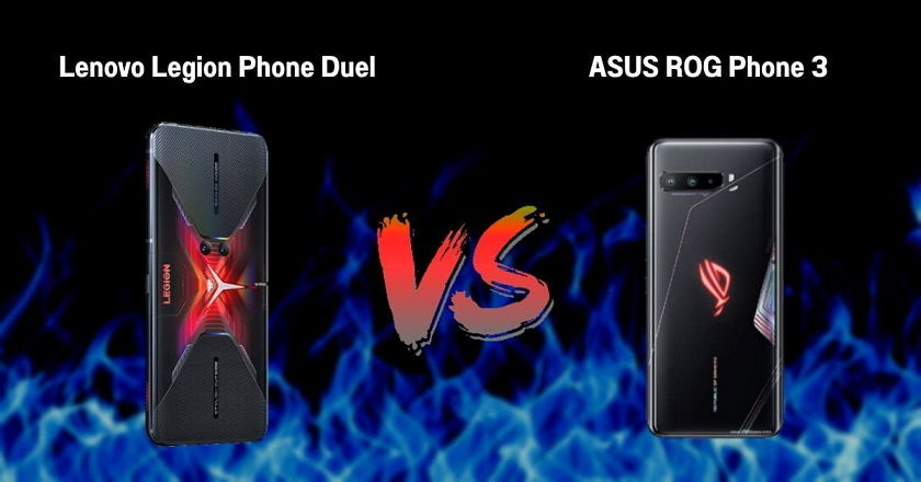 Asus ROG Phone 3 vs Lenovo Legion Duel Karşılaştırması